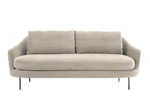 Velvet Sofa rental Austin, TX