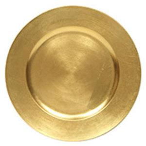 "Gold Acrylic Charger 13"" rental Austin, TX"