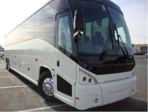 56 Passenger Motor Coach rental Austin, TX