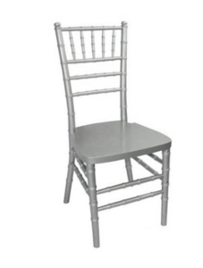 Silver Chiavari Chair with Pad rental Austin, TX