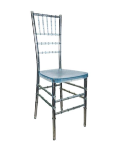 Ice Chiavari Chair with Pad rental Austin, TX