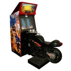Motorcycle Arcade Game (Road Burners) rental San Antonio, TX