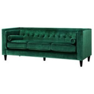 Emerald Velvet Sofa rental San Antonio, TX