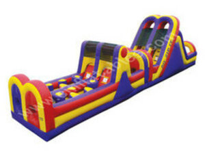 Zip it Obstacle Course Bounce House  rental San Antonio, TX