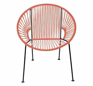 Coral PVC Cord Chair rental San Antonio, TX