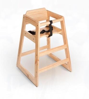 Wooden High Chair rental San Antonio, TX