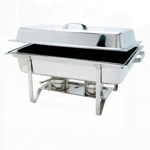 Stainless 8 QT Chafer rental San Antonio, TX