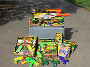 Foam Dart Party Package rental San Antonio, TX