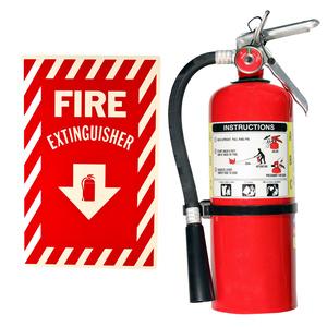 Fire Extinguisher with Sign rental San Antonio, TX