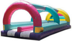 Colorful Double Lane Slip 'n' Slide rental San Antonio, TX