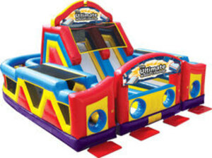 Ultimate Obstacle Course Bounce House  rental San Antonio, TX
