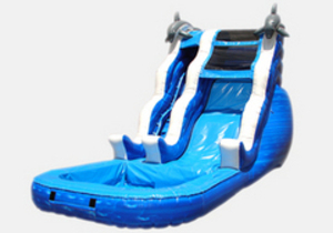 Sea Theme Waterslide rental San Antonio, TX