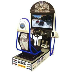 Sega Rally Arcade Game rental San Antonio, TX