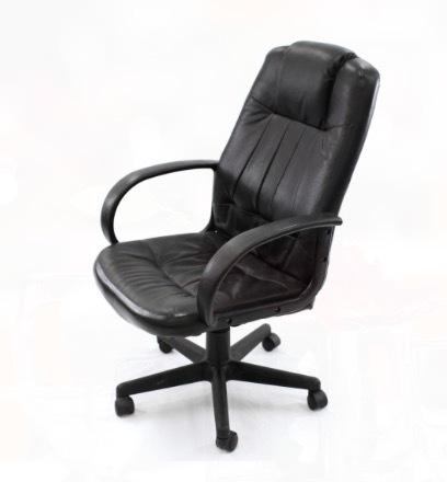 Executive Black Leather Chair rental San Antonio, TX