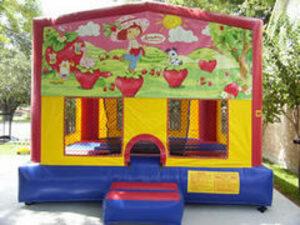 15x15 Bounce House with Strawberry Shortcake rental San Antonio, TX