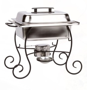 Wrought Iron 4 QT Chafer rental San Antonio, TX