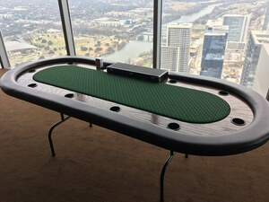 8ft Poker Table rental San Antonio, TX