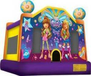 15x15 Girl Thing Bounce House rental San Antonio, TX