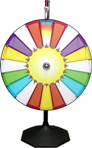 "36"" Prize Wheel - Money Wheel - Wheel of Fortune rental San Antonio, TX"