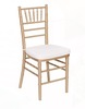 Gold Chiavari Chair with Cushion rental San Antonio, TX