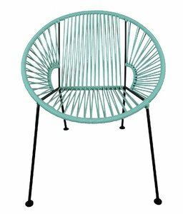 Mint PVC Cord Chair rental San Antonio, TX