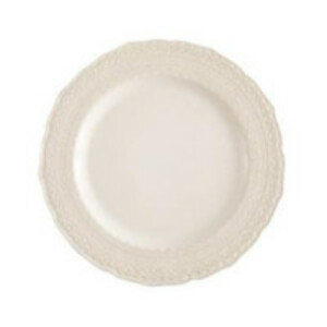 White Lace Dinner Plate rental San Antonio, TX