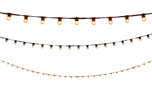 String Lights - 40' White rental San Antonio, TX