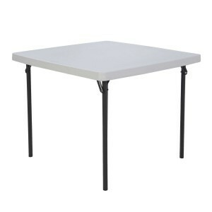 "36"" Square Folding Table rental San Antonio, TX"