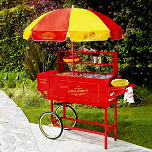 Hot Dog Cart rental San Antonio, TX