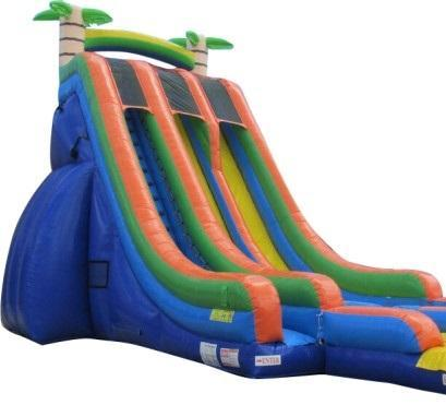 27' Dual Lane Dry Slide rental San Antonio, TX