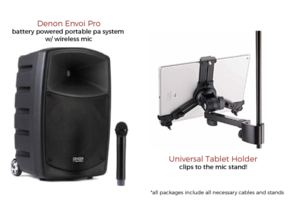 Wireless Karaoke System rental San Antonio, TX