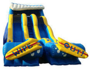 20' Dry or Water Slide rental San Antonio, TX