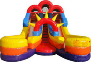 Double Splash Waterslide rental San Antonio, TX