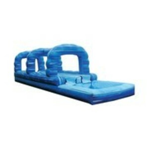 Blue Double Lane Slip 'n' Slide  rental San Antonio, TX