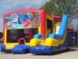 Bounce House Combo with Nemo Panel rental San Antonio, TX