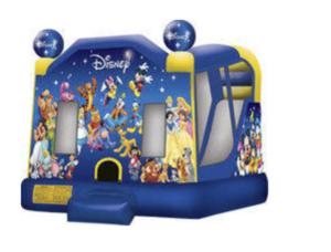 Bounce House Combo Disney  rental San Antonio, TX