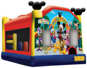 Mickey Mouse Bounce House 5 in 1 Combo rental San Antonio, TX