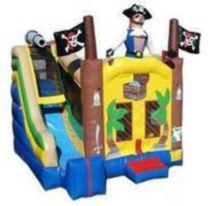 Pirate Bounce House Combo rental San Antonio, TX