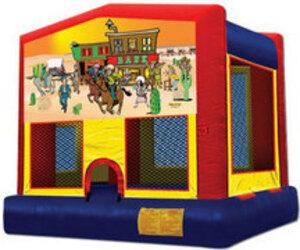 13x13 Western Bounce House  rental San Antonio, TX