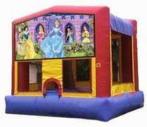 15x15 Disney Princess Bounce House  rental San Antonio, TX