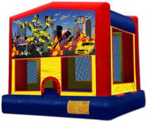13x13 Bounce House with Robocar Panel rental San Antonio, TX