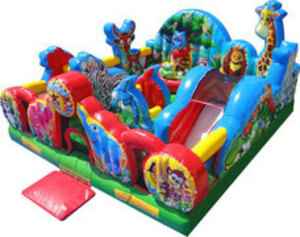 Toddler Bounce House Animal Kingdom rental San Antonio, TX