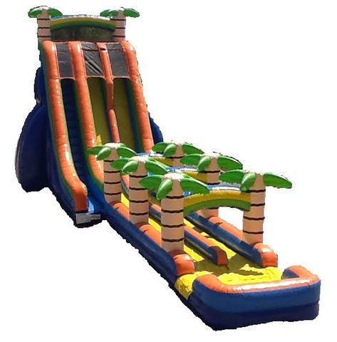 27' Water Slide with Slip N Slide rental San Antonio, TX