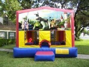 15x15 Shrek Bounce House  rental San Antonio, TX
