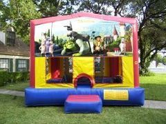 15x15 Shrek Bounce House  rental San Antonio, TX