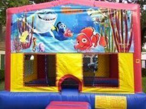 15x15 Nemo Bounce House  rental San Antonio, TX