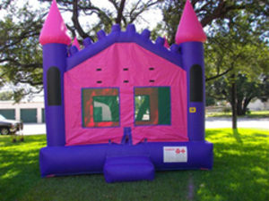 15x15 Queen Castle Bounce House rental San Antonio, TX