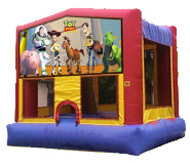 15x15 Bounce House with Toy Story Panel rental San Antonio, TX