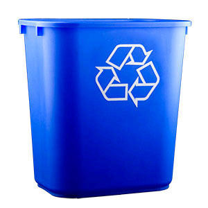 Recycling Bin rental San Antonio, TX