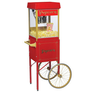 Popcorn Machine w/Cart rental San Antonio, TX